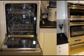 Lave vaisselle + colonne de cuisson